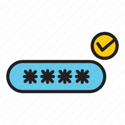 pass, password, protection, safe, safety, security icon
