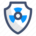 nuclear, nuclear protection, safety icon