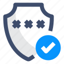 password protection, protection, security, shield