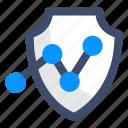 analytics, security, shield