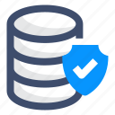 database, protection, security icon