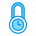 lock, protection, time