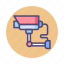 camera, cctv, closed circuit television, monitoring, security, surveillance icon