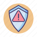 error, issue, protection, security, unsolved icon