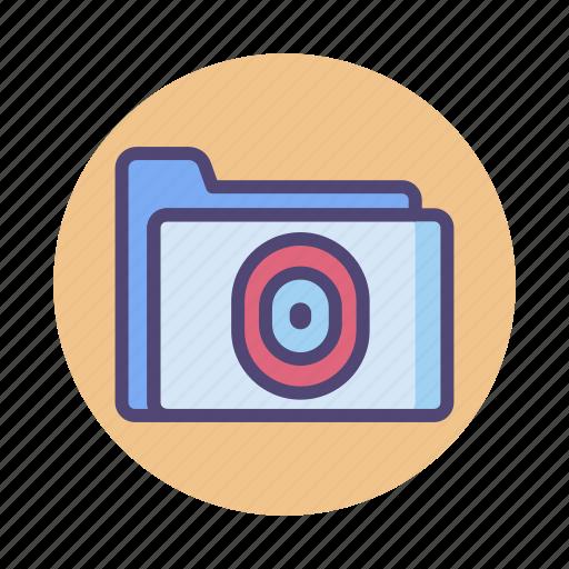 folder, personal, private file, private folder icon