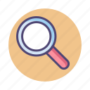 discover, magnifying glass, magnifier, search, find