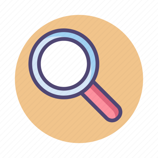 discover, find, magnifier, magnifying glass, search icon
