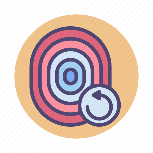fingerprint, retry, retry fingerprint, touch id icon