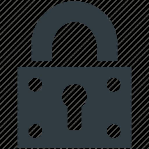 padlock, password, privacy, security, vintage lock icon