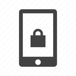 alarm, biometric, device, fingerprint, protection, security, technology icon