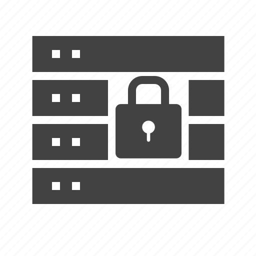 center, data, firewall, network, secur, security, server icon