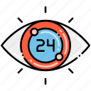 24h, monitoring, security