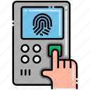 fingerprint, scanner, scan, id