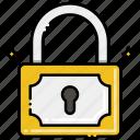 padlock, lock, security