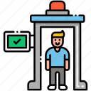 security, checkpoint, protection icon