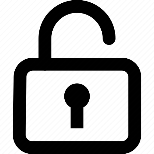 key, lock, padlock, security, unlock icon