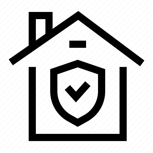 home, house, protection, security icon