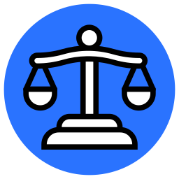balance, crime, justice, law, legal, scales of justice icon
