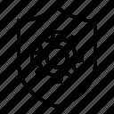 gear, wheel, shield, tool