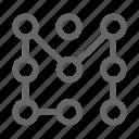 lock, padlock, pattern icon