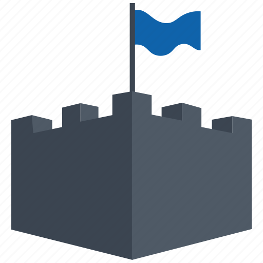 castle, security icon
