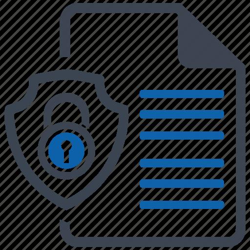 document, security icon