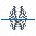 finger, scan, security icon