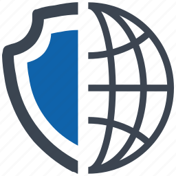 global, security icon
