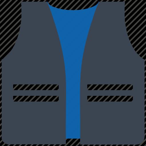 life, security, vest icon