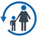 control, parental, security icon