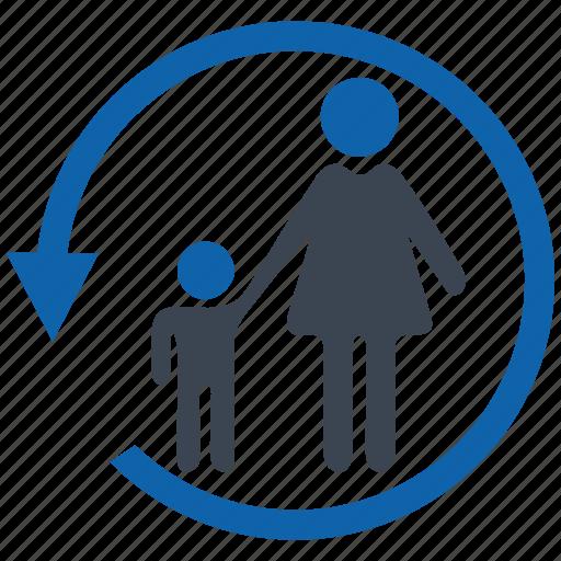 control, parental, security icon