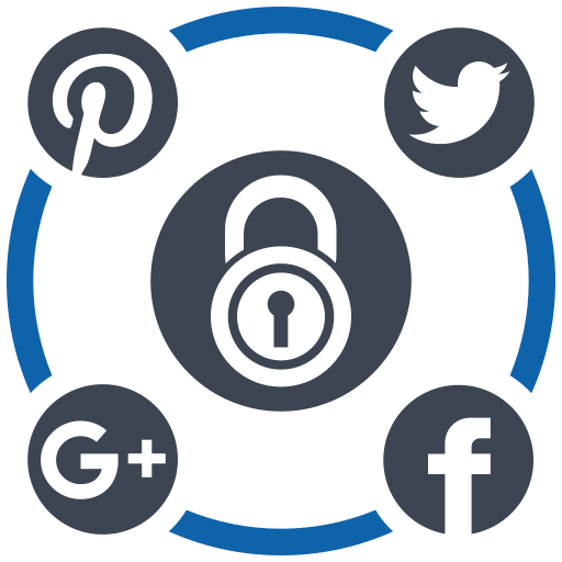 media, security, social icon