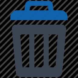 security, trash icon