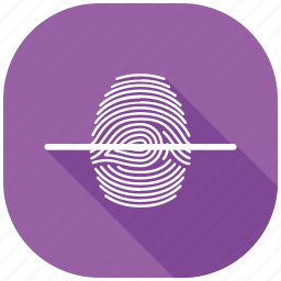 data, finger, mobile, scan, secure, security icon