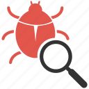 bug, fixing, protection, safety, secure, security icon