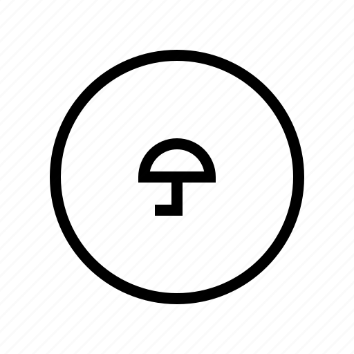 circle, protect, protection, secure, security, umbrella icon