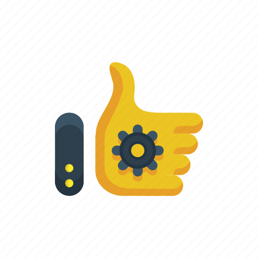 optimization, reliability, security, seo, thumbs up icon