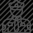 cop, guard, officer, police, policeman, security, uniform icon