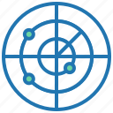 focus, goal, objective, strategy, target, testing icon