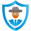 anti, encryption, firewall, guard, shield, theft icon