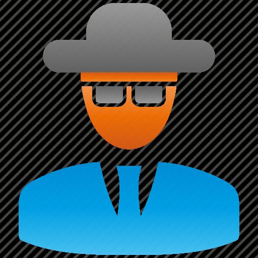 blackhat, encryption, firewall, guard, hat, shield icon