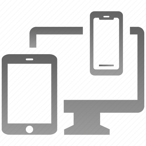 devices, encryption, firewall, guard, multi, shield icon