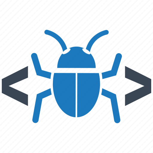 bug, code, protection, safety, secure, server, shield icon