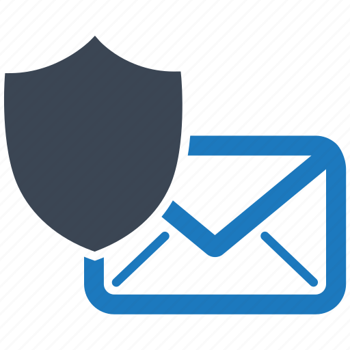 mail, protection, safety, secure, security, server, shield icon