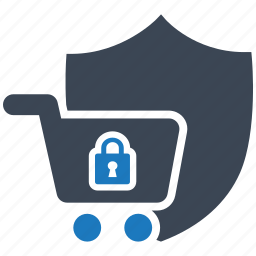 protect, protection, safety, secure, server, shield, shopping icon