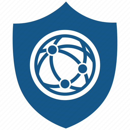network, protection, safety, secure, security, server, shield icon