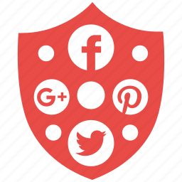 protection, safety, secure, security, server, shield, social icon