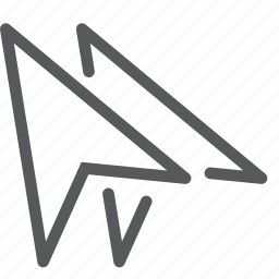arrow, cursor, double, point, pointer, selection icon