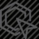 arrow, click, cursor, double click, point, pointer, selection icon