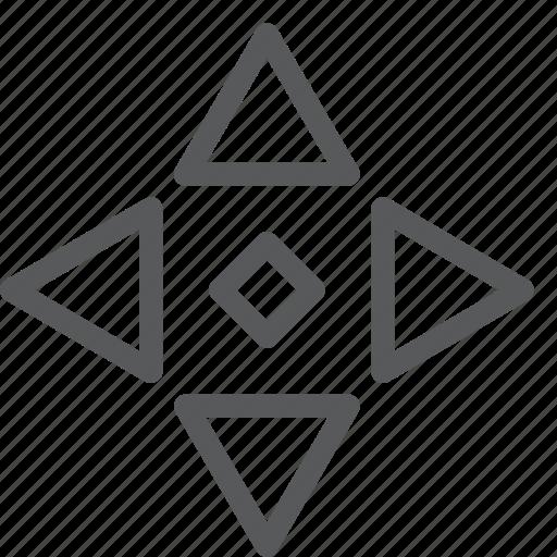 all, arrow, cursor, direction, move, scroll, selection icon